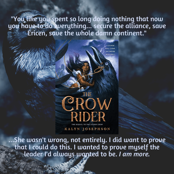 Crow Rider By Kalyn Josephson