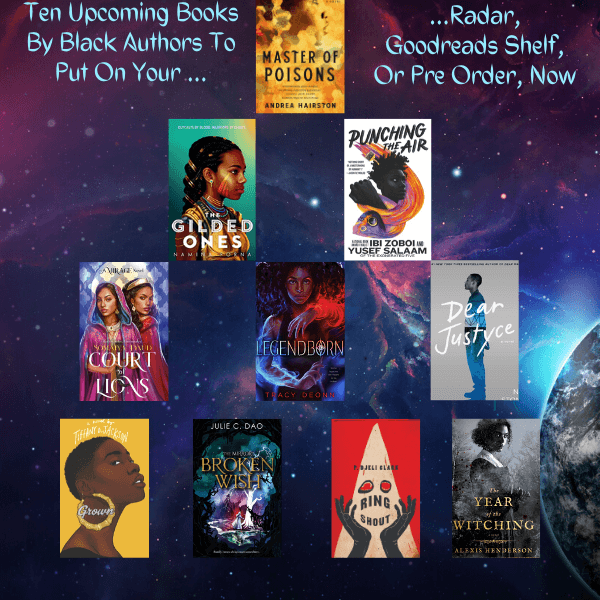 10 New Book Releases By Black Authors Book List