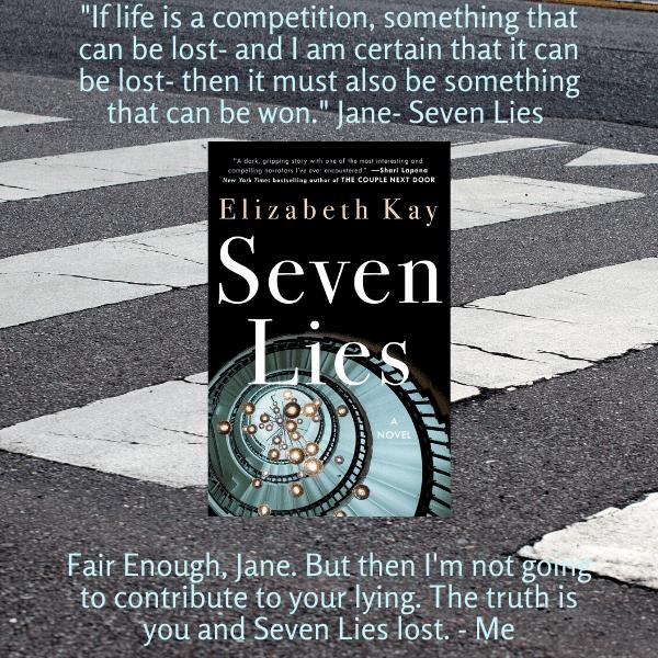 Seven Lies by Elizabeth Kay